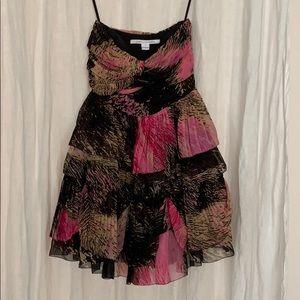 DIANE von FURSTENBERG silk mini dress size 0
